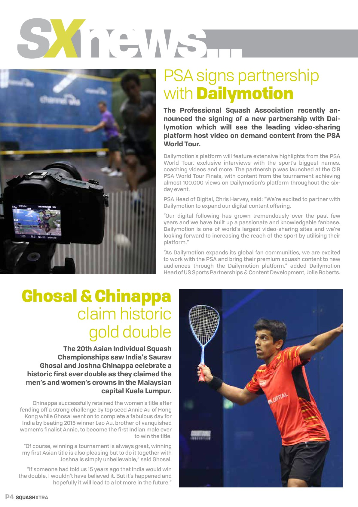 SquashXtra Magazine - Issue 02